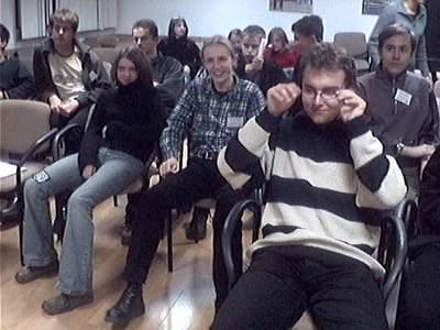 Uczestnicy jesiennego seminarium wPerkozie