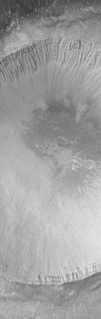 Krater naMarsie, Elysium Planitia