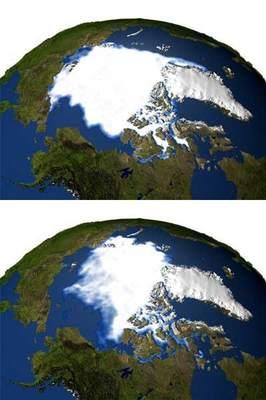 Pokrywa lodowa Arktyki
