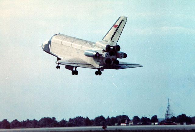 Lądowanie Burana