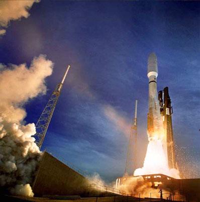 Start rakiety Atlas 5 z przylądka Canaveral