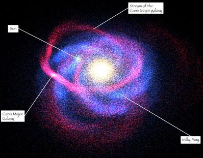 Galaktyka karłowata w Wielkim Psie
