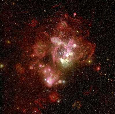 N44 w Wielkim Obłoku Magellana