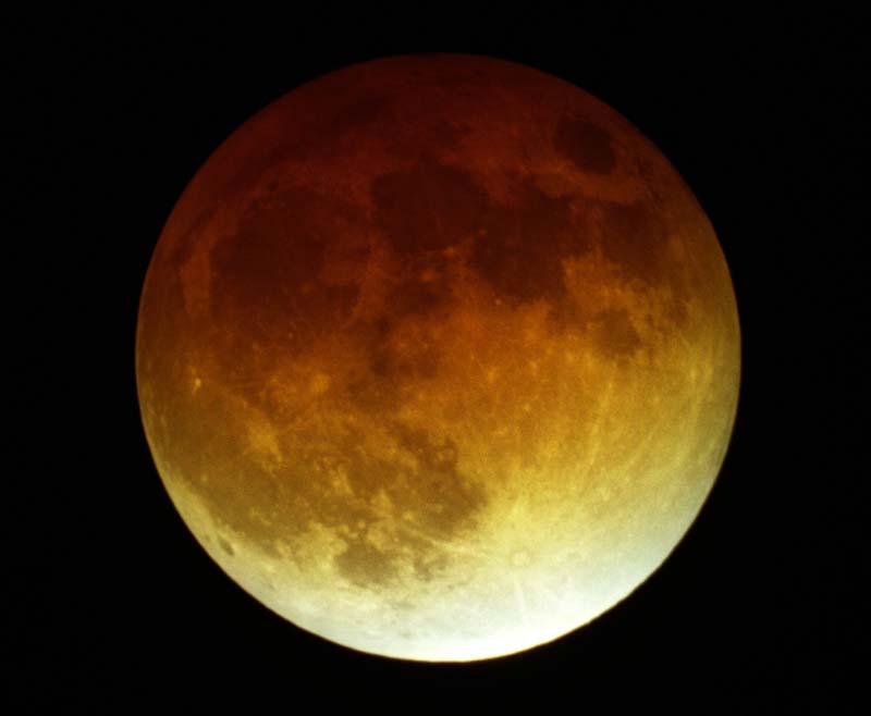 Zaćmienie Księżyca z 9 listopada 2003 (I)