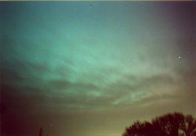 Zorza polarna z20 listopada 2003 (XIII)