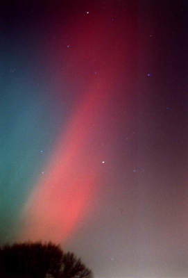 Zorza polarna z20 listopada 2003 (XIX)