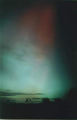 Zorza polarna, 20 listopada 2003, Szubin (II)