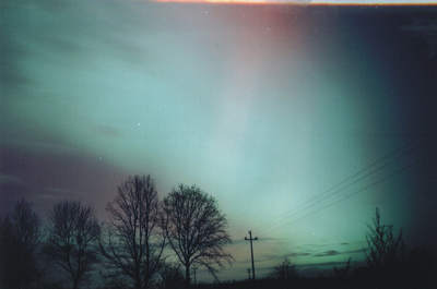 Zorza polarna, 20 listopada 2003, Szubin (IV)