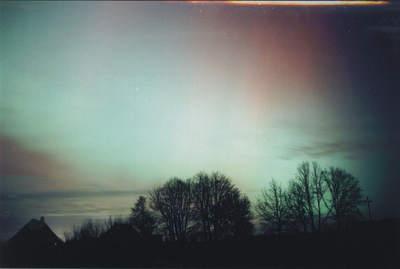 Zorza polarna, 20 listopada 2003, Szubin (V)