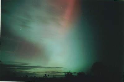 Zorza polarna, 20 listopada 2003, Szubin (VI)