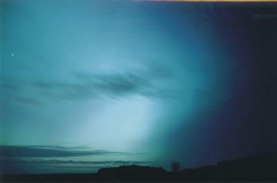 Zorza polarna, 20 listopada 2003, Szubin (IX)