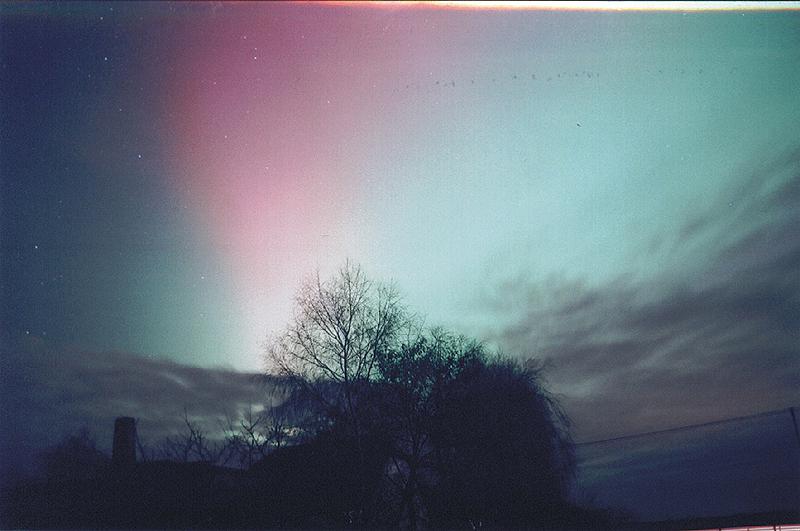 Zorza polarna, 20 listopada 2003, Szubin (X)