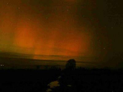 Zorza polarna, 20 listopada 2003, Czarny Dunajec (I)