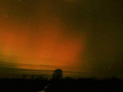 Zorza polarna, 20 listopada 2003, Czarny Dunajec (III)