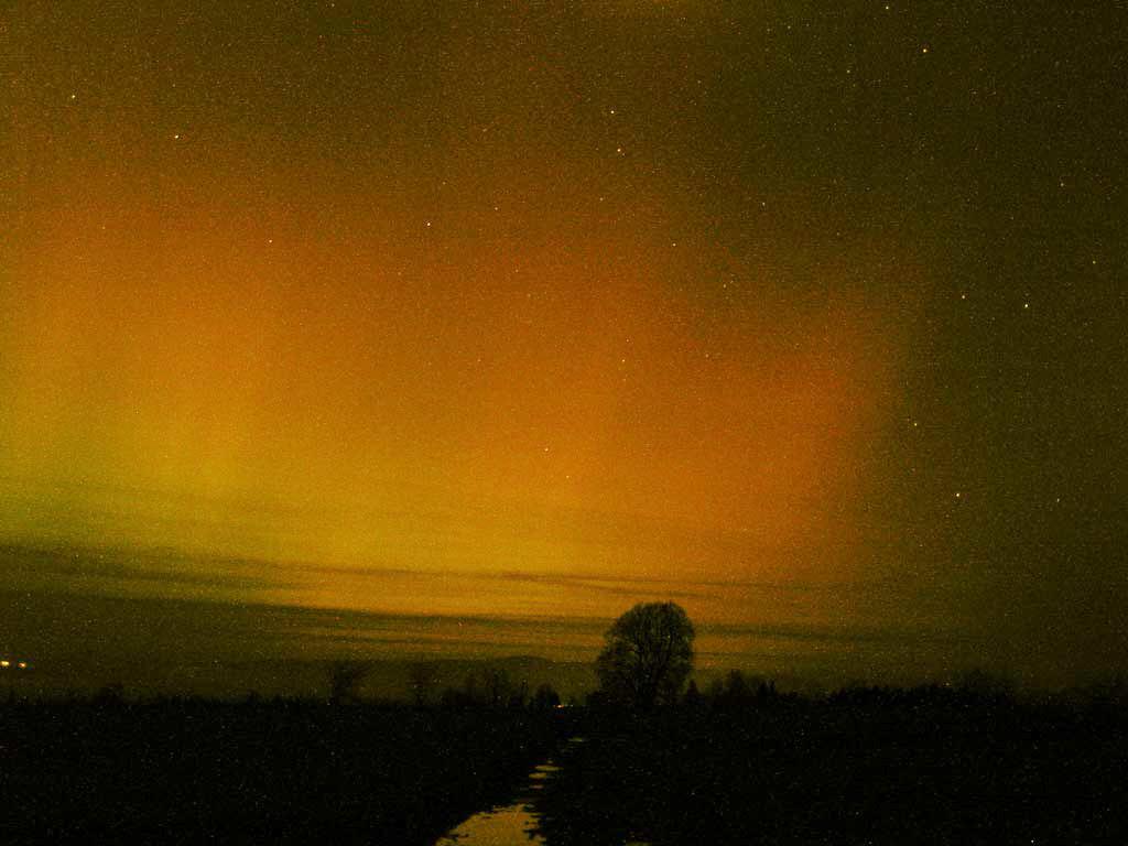 Zorza polarna, 20 listopada 2003, Czarny Dunajec (IV)