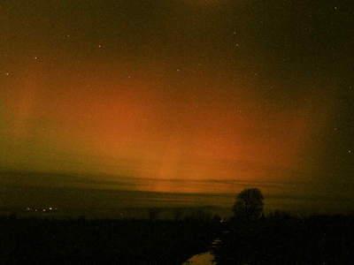 Zorza polarna, 20 listopada 2003, Czarny Dunajec (VI)