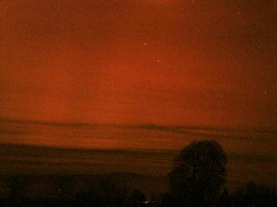 Zorza polarna, 20 listopada 2003, Czarny Dunajec (VIII)
