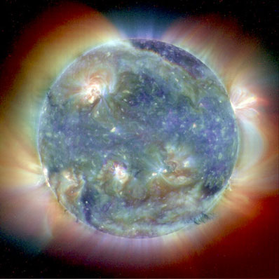 Najpopularniejsze zdjęcie Słońca zrobione przez SOHO