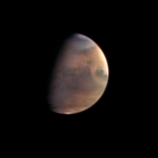 Mars sfotografowany przez Mars Express