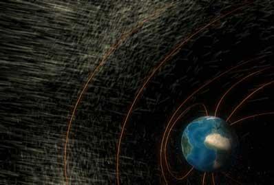 Ziemia i wiatr słoneczny