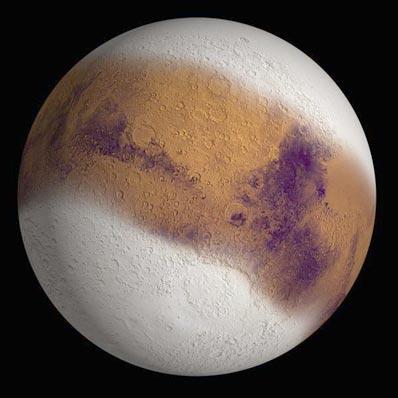 Lodowy Mars