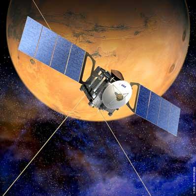Mars Express zbliża się do Marsa