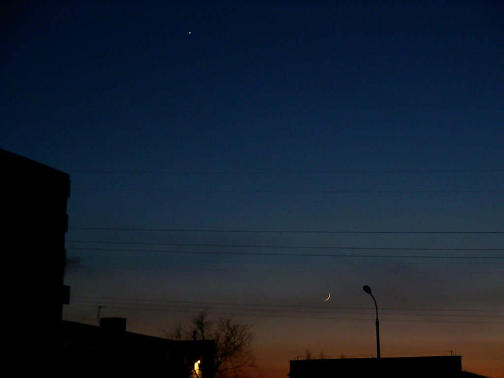 Księżyc iWenus 23 stycznia 2004 (I)