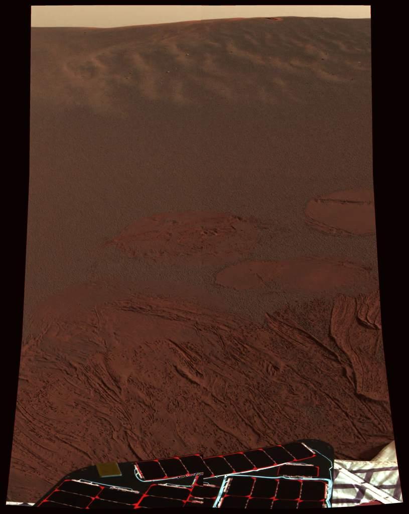 Pierwsze zdjęcie sondy Opportunity