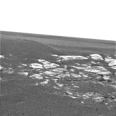 Pokłady skalne blisko lądowiska