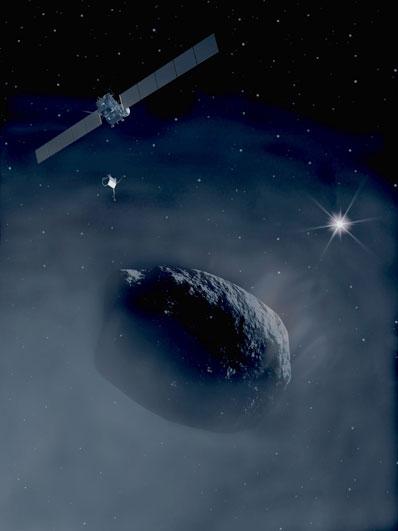 Rosetta i kometa Czuriumow-Gierasimienko