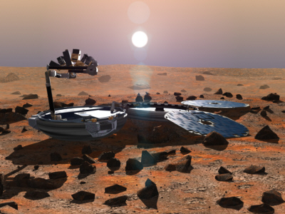Beagle 2 na Marsie