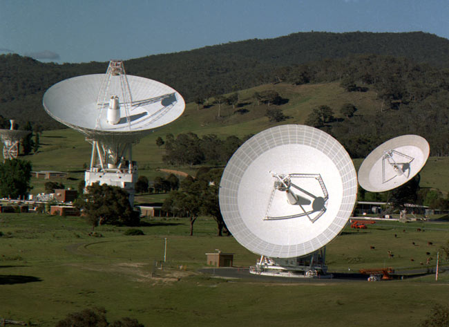 Anteny systemu Deep Space Network