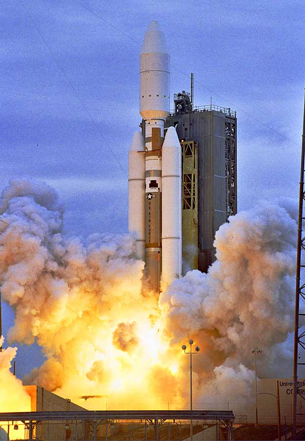 Start rakiety Titan 4 (I)
