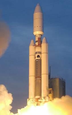 Start rakiety Titan 4 (III)