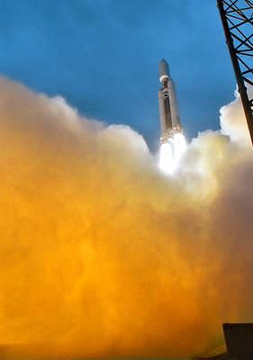 Start rakiety Titan 4 (IV)