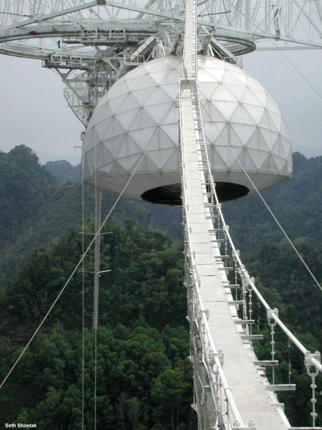 Teleskop w Arecibo