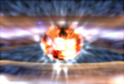 Fala uderzeniowa kilka sekund powybuchu