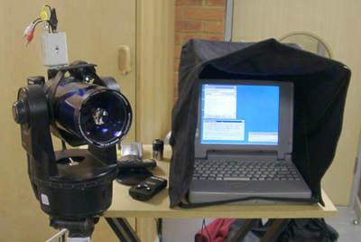 Network Telescope Control - NTC