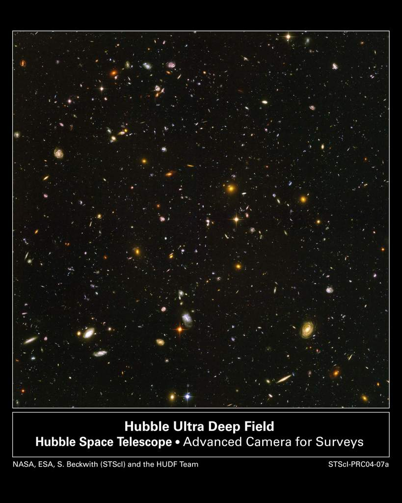 Ultragłębokie Pole Hubble'a