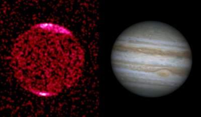 Jowisz w promieniowaniu rentgenowskim