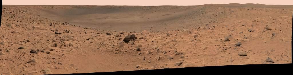 Krater Bonneville - widok z krawędzi