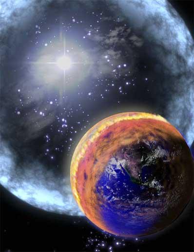 GBR trafia Ziemię