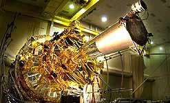 Gravity Probe-B w budowie