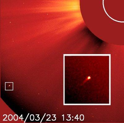 SOHO Comet 750
