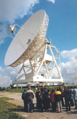 Radioteleskop wPiwnicach koło Torunia