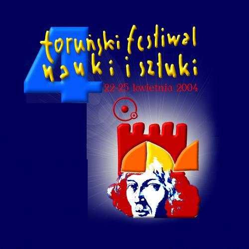 Logo 4. Toruńskiego Festiwalu Nauki i Sztuki