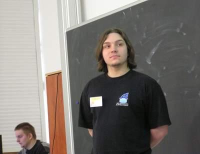Marcin Marszałek na 4TFNiS