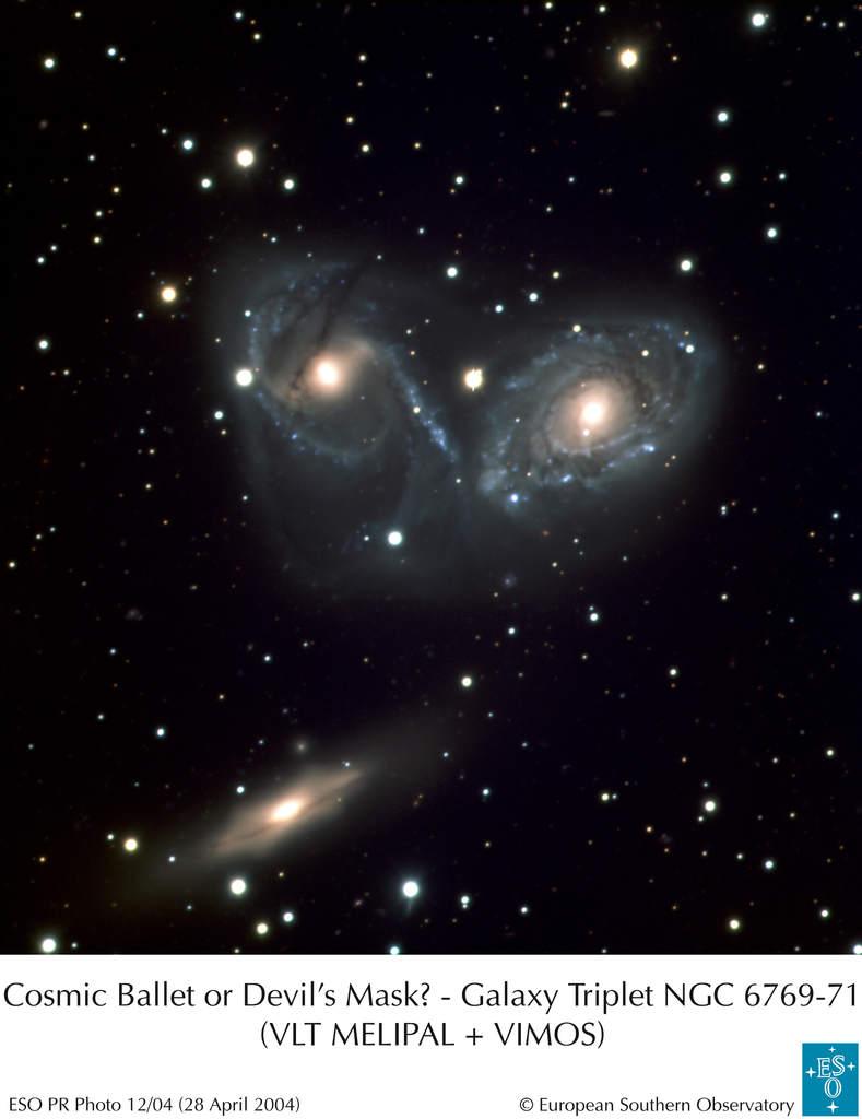 Trójka galaktyczna NGC 6769-71