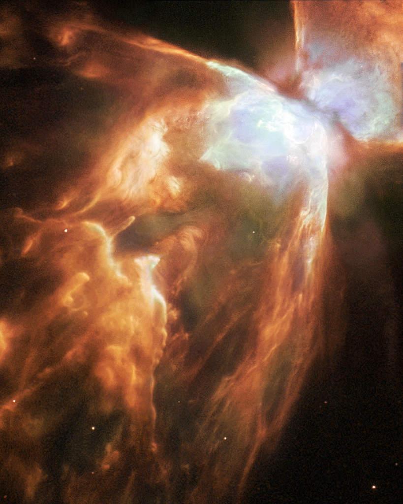 """NGC 6302, mgławica planetarna """"Motyl"""""""