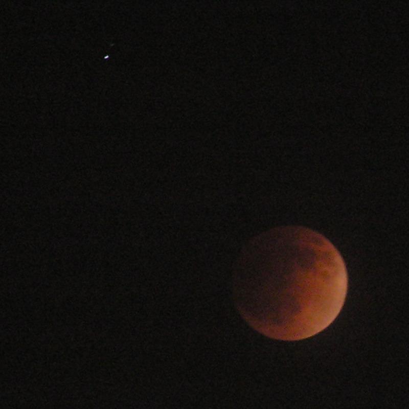 Zaćmienie Księżyca 4 maja 2004 z Poznania (5)